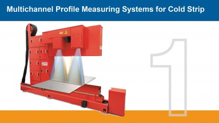 IMS Multichannel Profile Measuring System for Cold Strip