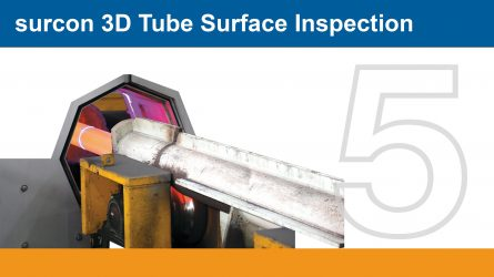 IMS surcon 3D tube surface inspection